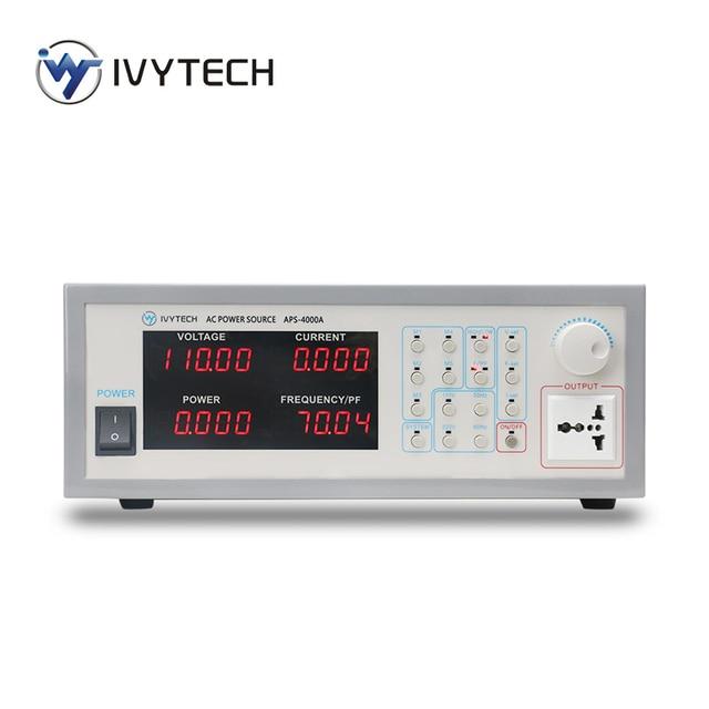 AC Power Source Supply Bench Storage Type Variable Frequency Power Supply 350VA 700VA 1200VA APS4000A APS4000B APS4000C