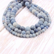 Lan Dongling Natural?Stone?Beads?For?Jewelry?Making?Diy?Bracelet?Necklace?4/6/8/10/12?mm?Wholesale?Strand