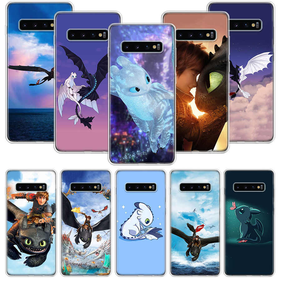 Toothless How To Train Your Dragon Case for Samsung Galaxy A10 A20E A30 A40 A70 M30S A50S A6 A7 A8 A9 Plus 2018 Soft Phone Cover