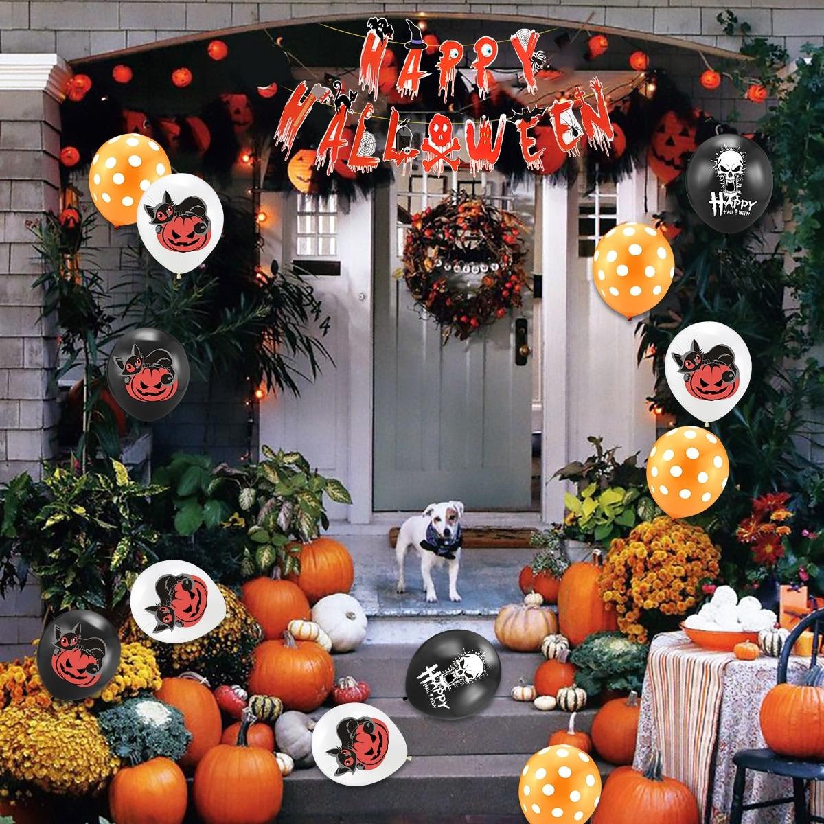 Happy Halloween Decor Set 11