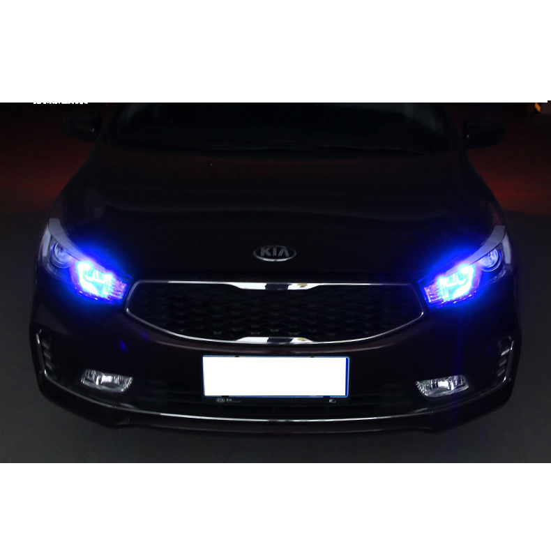 Lsrtw2017 Car Front The Width Light Bulb for Kia K3 Cerato 2012 2013 2014 2015 2016 2017 2018 Interior Mouldings Accessories