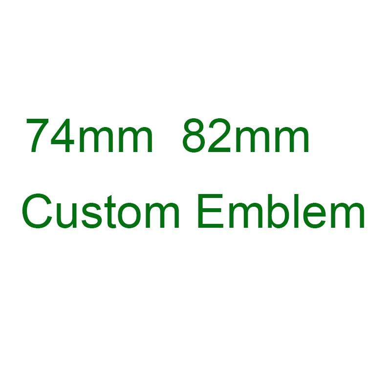 74mm Or 82mm 51148132375 For BMW E30 E38 E39 E46 E60 E61 E90 X3 E70 E83 X5 F10 F11 F30 Logo Front Hood Rear Trunk Badge Emblem