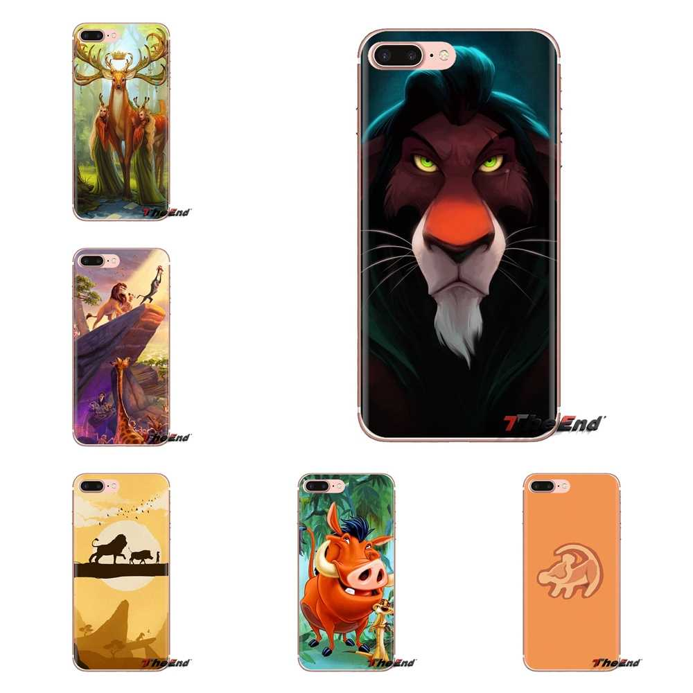 For Oneplus 3T 5T 6T Nokia 2 3 5 6 8 9 230 3310 2.1 3.1 5.1 7 Plus 2017 2018 Phone Shell Cases comic The Lion King Hakuna Matata
