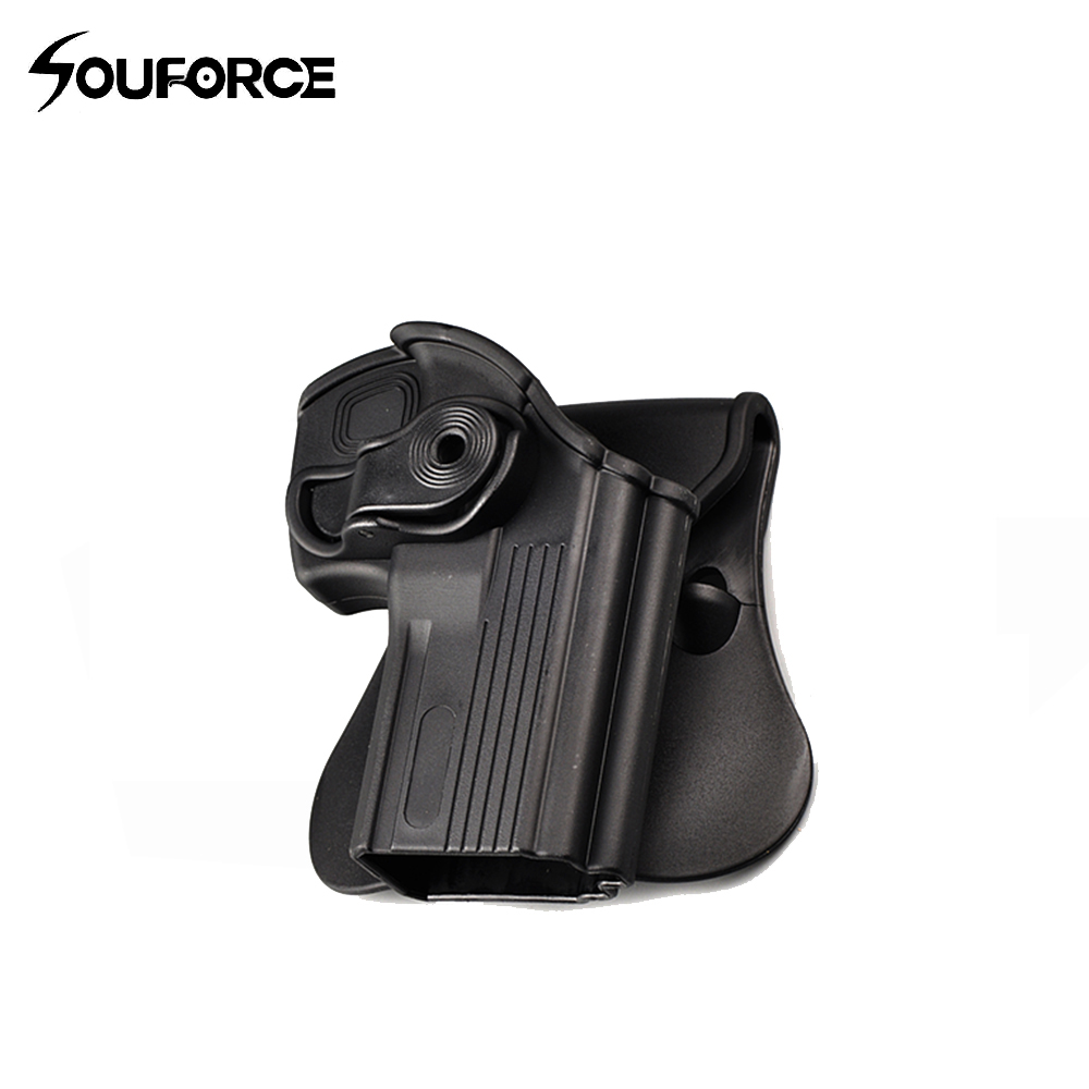 360 Degrees Pistol Holster Rotates Right Hand Belt Loop Paddle Platform For For Taurus 24/7 24/7-OSS Paddle For Hunting
