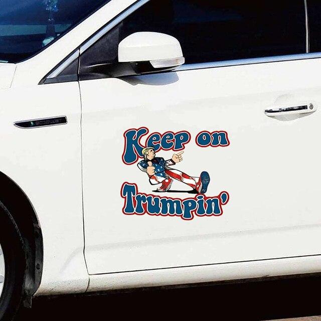 """Keep On Trumpin"" Sticker 2"