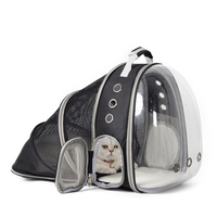 Transparent Cat Bag Space Carrier Cat Carrier Pouch Dog Carrier Backpack Bag Cat Mochila Perro Transportin Pet Products 50WC13