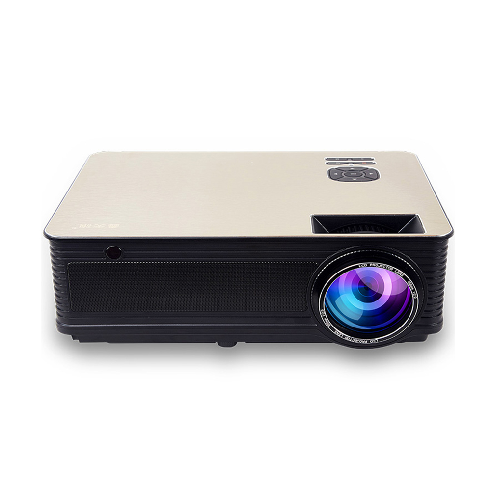 VIVICINE Home Theater HD Projektor 5500 Lumen, Optional Android 7,1 WiFi Bluetooth, unterstützung 1080p LED Video Spiel Projektor Beamer