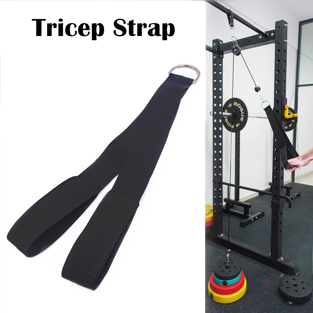 Fitness Home Gym Cable Machines Attachment Crossfit Bodybuilding Muscle Strength Training Workout Accessories Tricep Excercise 5