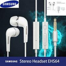Für Samsung original EHS64 Kopfhörer Wired 3,5mm In-ohr mit Mikrofon Wired Controller Unterstützung Android für Xiaomi Huawei