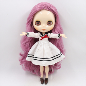 Image 4 - ICY DBS blythe Doll toy joint body bjd white skin shiny face 1/6 toy 30cm in vendita offerta speciale