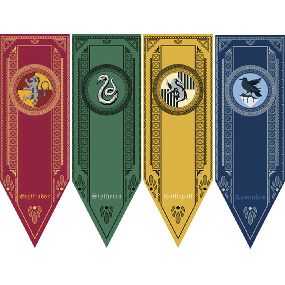 Harri Colleges Flags Party Supplies College Flag Banners Boys Girls Kids Halloween Decoration Christmas Gift Toys For Children