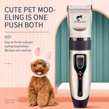 Afeitadora eléctrica para perro y mujer, cortador de pelo para mascotas, afeitado para gato Teddy, cortador de pelo eléctrico profesional para perro con pelo, corte de pelo Foo