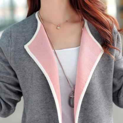 2020 female long sleeve cardigan plus size top poncho for feminino blusa tricot autumn sexy women's knitting sweater S341