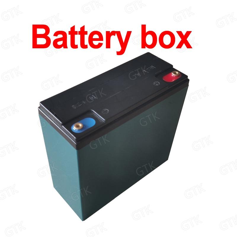 12V 20Ah ABS empty battery box battery case outer covering for 12v 24V 30Ah 10Ah 15AH 25Ah lifepo4 li ion LTO lead acid battery