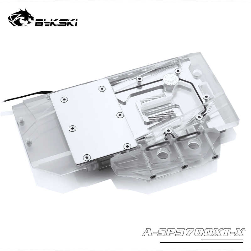 Bykski A-SP5700XT-X GPU bloque de refrigeración para zafiro RX 5700 XT pulso MSI RX5700XT Mech/evocar Dataland RX5700XT Diablo rojo