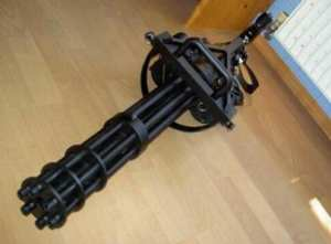 Model-Kit Gatling-Gun Handcraft DIY 1:1-Scale-Paper 3D Cs-Vulcan 95cm High-Quality