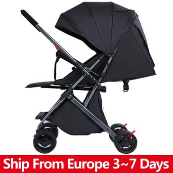 Wózek dziecięcy składany wózek dziecięcy wysokiej światło krajobrazu waga przenośne podróży wózek wózek dziecięcy noworodka dziecięcy wózek nosidło wózek dziecięcy tanie i dobre opinie copsean 4-6y CN (pochodzenie) 30KG Numer certyfikatu Folding Baby Stroller