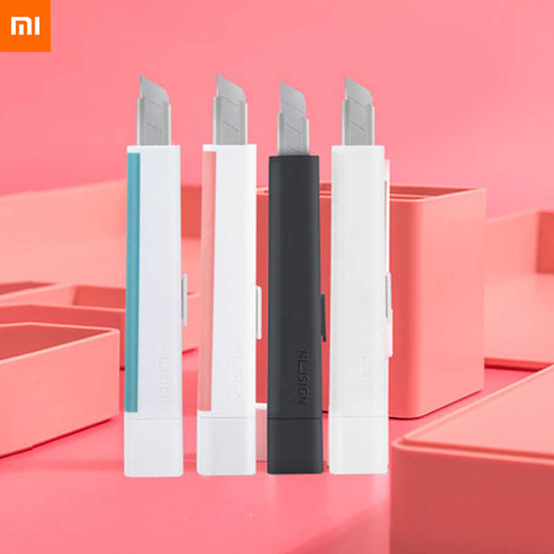 Xiaomi Youpin Nusign Utility Messer sharp Office home Multifunktionale Augenbraue bleistift sharp ener mit Messer Kappe Schutz