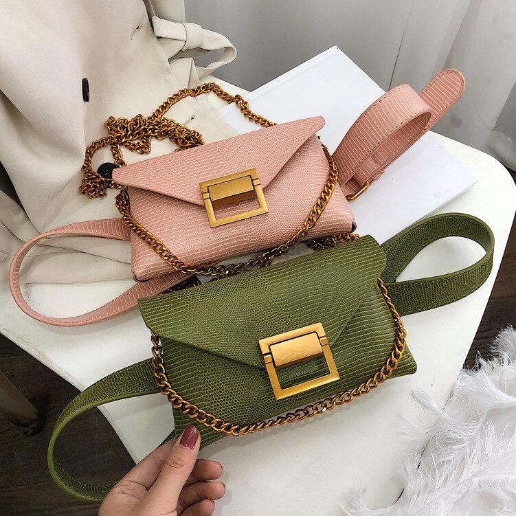 Женская сумка на грудь, весна-лето 2019, новый стиль, сумка для бега ящерица, многофункциональная, мужская и женская, легкая