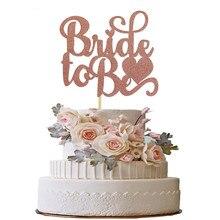 Decoración de Pastel de ducha nupcial, Decoraciones de fiesta de cumpleaños de boda