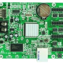 O vídeo da cor completa do porto de rede de TF-QS2N usb + conduziu o controlador 256x128,512x64 pixels da tela vem com 4 * hub75