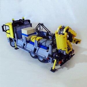 Image 5 - Mới Technic Mộc 4156 Người Vận Chuyển Xe Tải Điện Năng RC Xe Cơ Giới Các Khối Xây Dựng Đồ Chơi Giáo Dục Trẻ Em Quà Tặng