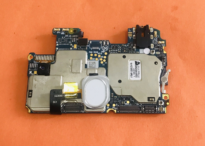 Se placa base Original 4G RAM + 64G ROM placa base para Ulefone X MT6763 Octa Core 5,85