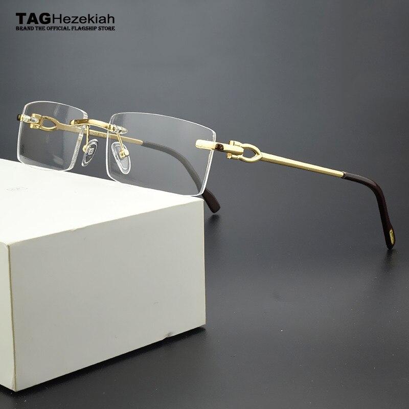 Retro Brand Eyeglasses Frame Women Round Glasses Frame Men 2019 Myopia Computer Spectacle Frames Vintage Handmade Designer Nerd
