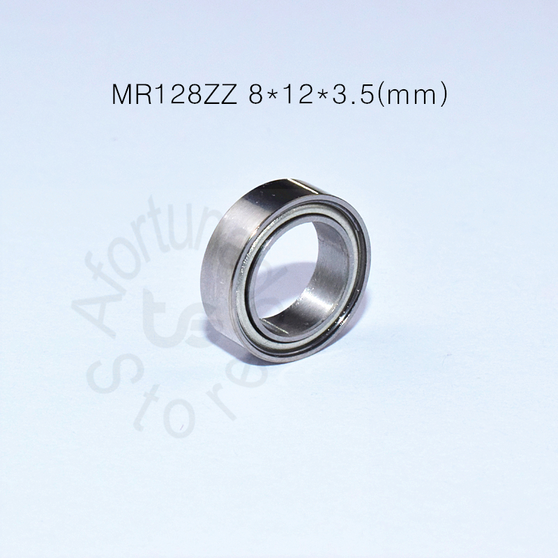 MR128ZZ 8*12*3.5(mm) 10pieces Free Shipping Bearing ABEC-5 Metal Sealed Miniature Mini Bearing MR128 ZZ Chrome Steel Bearing