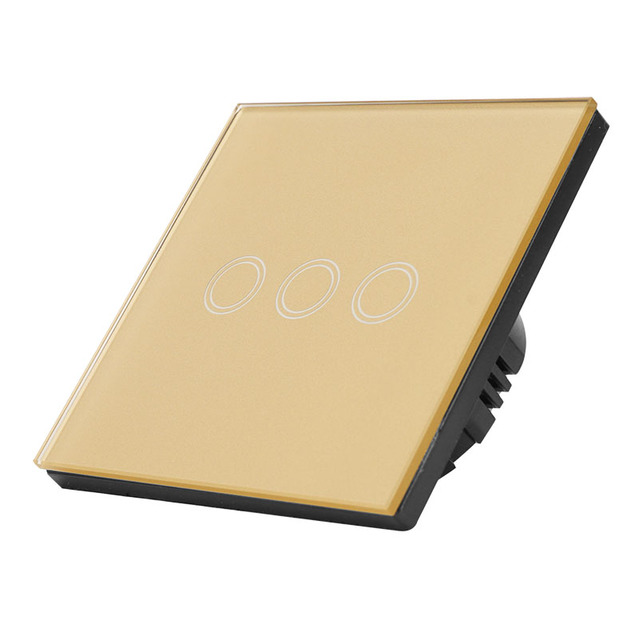 Aracorn Crystal Glass touch switch Switches    -