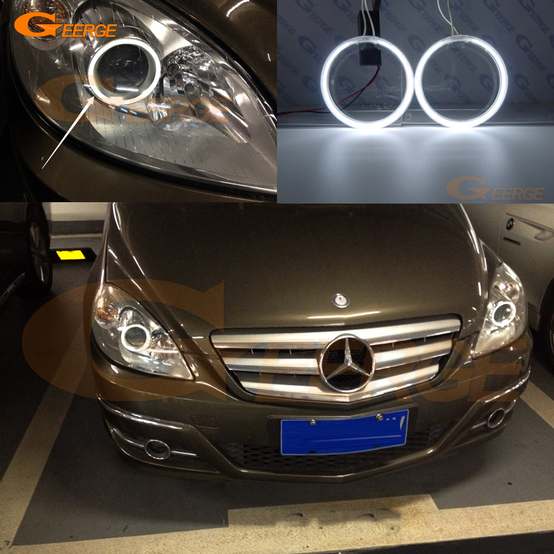 For Mercedes Benz B Class W245 B150 B160 B180 B170 B200 2005-2011 Excellent CCFL Angel Eyes Kit Halo Rings Ultra Bright