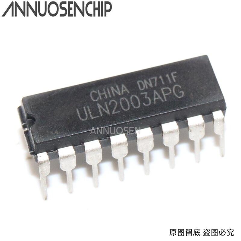 20pcs ULN2003 ULN2003AN ULN2003APG DIP-16 IC BEST
