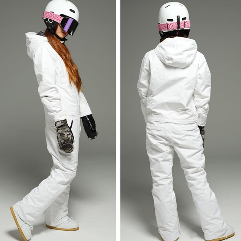 Unisex Snowsuits Windproof Men Women Ski Suits Jumpsuits Winter Outdoor For Snow Sports XS-XXL