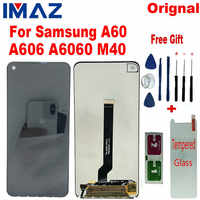 "IMAZ Orignal 6.3"" LCD For Samsung Galaxy A60 A606F/DS A6060 Display Screen Touch Screen Digitizer Assembly Replace For M40 LCD"