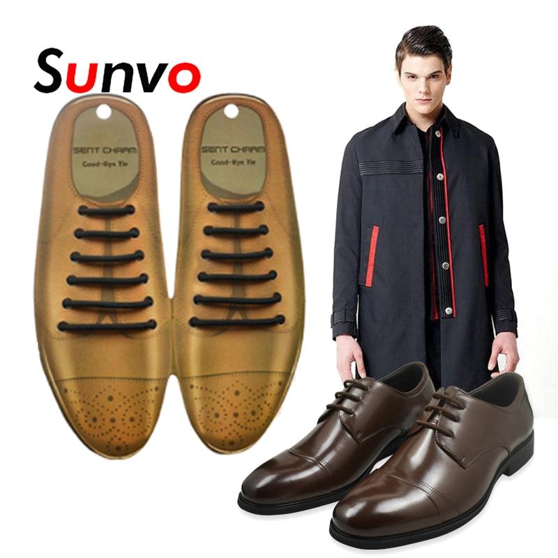 12Pcs Fashion Elastic Free Tying No Tie Lazy Silicone Shoelace Dress Shoe La/_vi