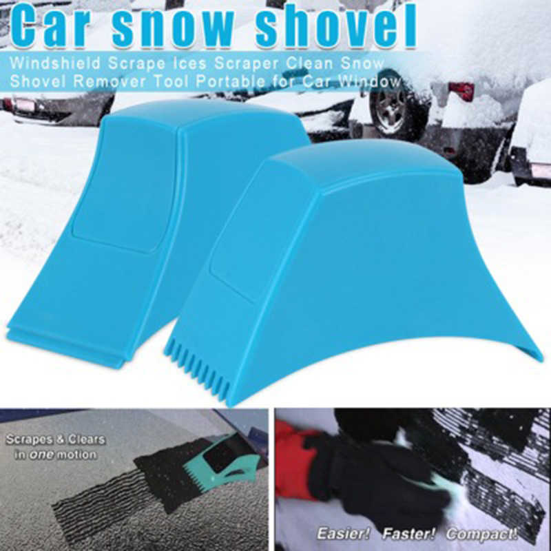 Winter Auto Voorruit Ijskrabber Trechter Sneeuw Remover Schop Venster Schrapers Kegel Deicing Tool Schrapen Dropshipping