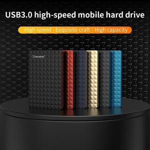 2.5'' External Hard Drive USB 3.0 Colorful Metal HDD Portable External HD Hard Disk for Desktop Laptop Server Super Deals