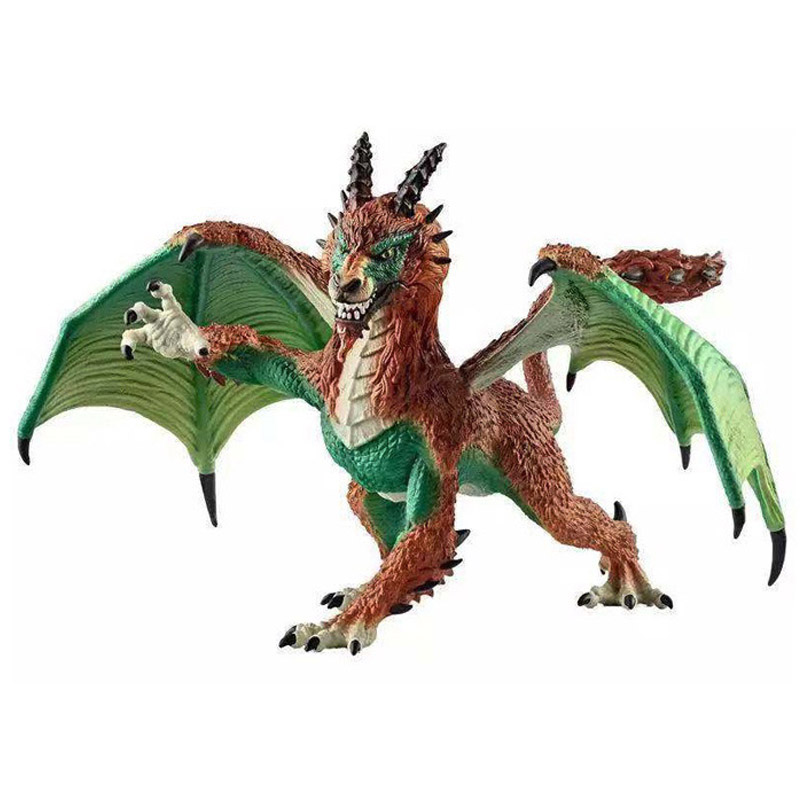 1Pcs 13cm Simulation Magic Dragon <font><b>Dinosaurs</b></font> Archaeopteryx PVC Solid Action Figure <font><b>Toy</b></font> Doll Model Decoration Kid Adult Gift image
