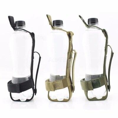 Army Fans Outdoor Sports Shui Hu Bao Molle Travel Mountain Climbing Water Bottle Bag Tactical Adjustable Universal Shui Hu Tao