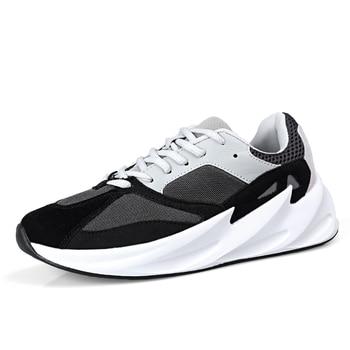 большие подушки на открытом воздухе | ALDOMOUR мужские кроссовки, обувь для бега, новейший стиль, высокая дышащая Уличная обувь большого размера, удобная модная спортивная обувь J
