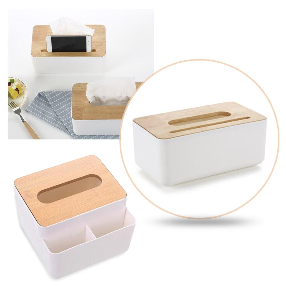 Настольная коробка для хранения салфеток широкий спектр применения большая емкость простая в использовании с дополнительными пространств...