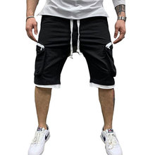 2021 Men's New Style Popular Logo Fitness Shorts Summer Sportswear Polyester C5 Pants Multi-Pocket Casual Cargo Shorts