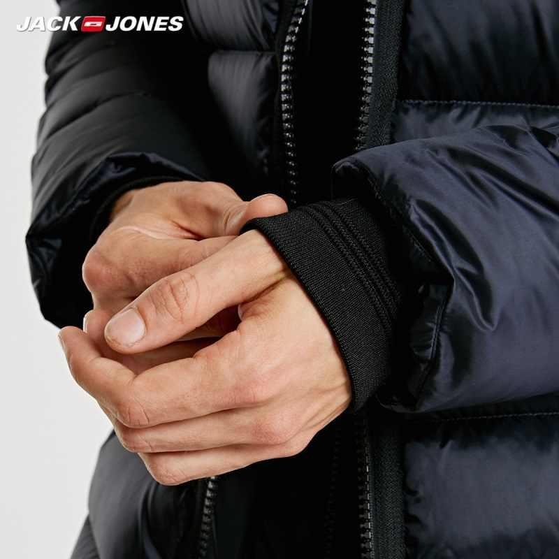 Jackjones Mũ Trùm Đầu Nam Nữ Ngắn Xuống Áo Khoác Áo Khoác Dù Phối Áo Khoác Ngoài Menswear 218312522