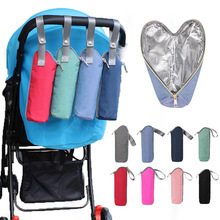 Snailhouse Thermal Portable Baby Feeding Milk Bottle Thermal Insulated Bag Cooler Warmer Insulation Bag Tote Stroller Hang Bags