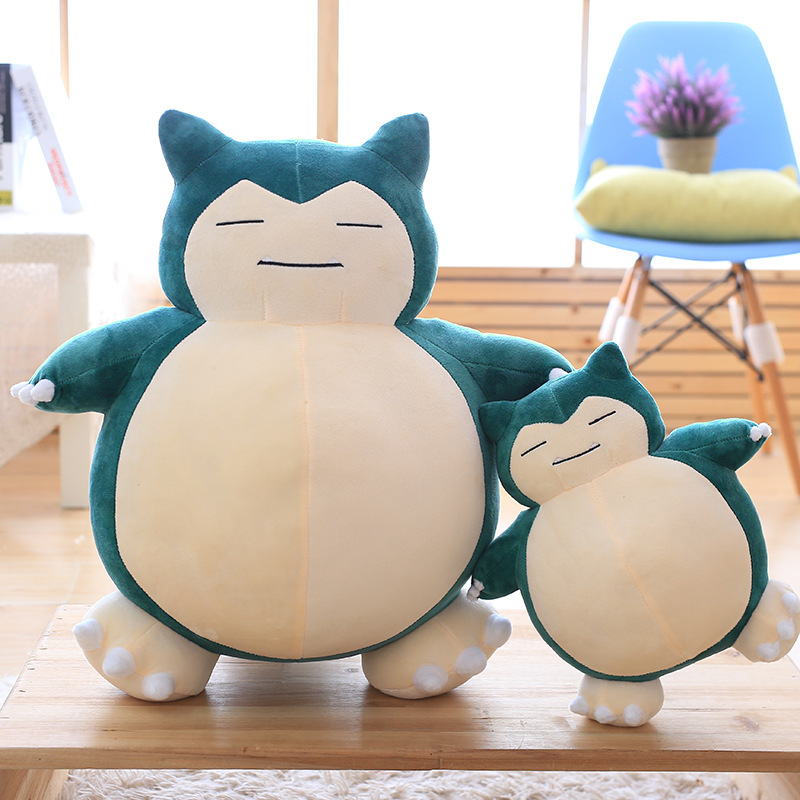 Snorlax plush doll Cute bear Big size stuffed toys soft Pillow Gifts for children kids birthday present 1