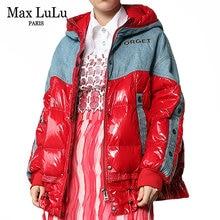 Max lulu новые зимние европейские модные женские свободные парки