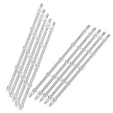 10 teile/satz Led hintergrundbeleuchtung Streifen 5 und 5 Lampen Bar Für LG 42LN Zoll TV 42LN540V Gute Leistung Hohe Qualität und Marke Neue