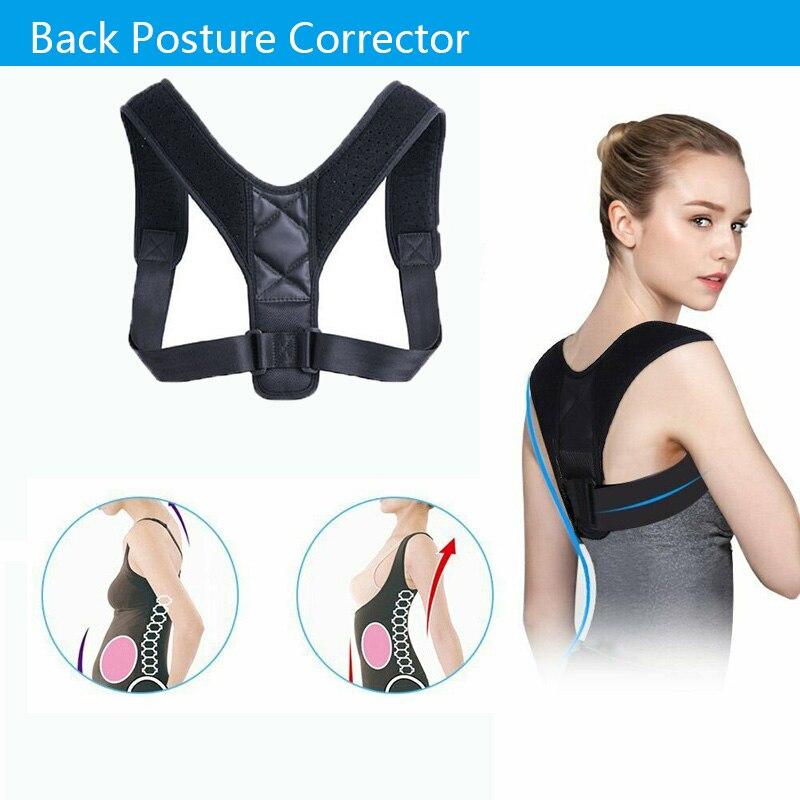 Brace Support Belt Adjustable Back Posture Corrector Clavicle Spine Back Shoulder Lumbar Posture Correction