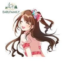 EARLFAMILY 13cm x 11.7cm for Anime Waterproof Car Sticker Graffiti Decal Personality Creative Sticker Car Styling Scratch-proof