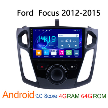 4G+64G IPS android autoradio for Ford Focus 2012-2015 car radio DVD multimedia GPS navigator coche audio auto stereo car radio image